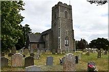 TM3464 : Rendham, St. Michael's Church: North western aspect by Michael Garlick