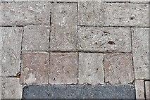 TM3464 : Rendham, St. Michael's Church: Nave floor detail by Michael Garlick