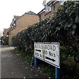 SZ0796 : Kinson: Keeble Road by Chris Downer