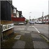 SZ0894 : Moordown: King George Avenue by Chris Downer