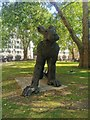 TQ2880 : Lady Hare sculpture, Berkeley Square by PAUL FARMER