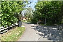 TQ5937 : Road to Windmill Farm by N Chadwick