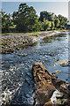 SO5074 : Mill Street Weir by Ian Capper
