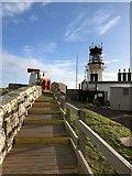 HU4007 : Sumburgh Head Lighthouse by Philip Cornwall