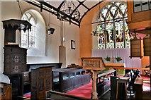 TM3464 : Rendham, St. Michael's Church: The chancel by Michael Garlick