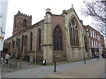 SO8554 : St Helen's Church, Fish Street, Worcester by Chris Allen