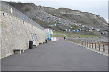 SY6873 : Promenade, Chesil Cove by N Chadwick
