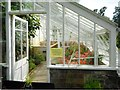 NS3478 : No entry to the greenhouse by Richard Sutcliffe
