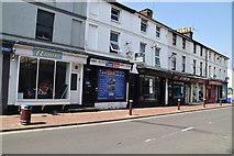 TQ5840 : Shops, Camden Rd by N Chadwick