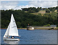 SO7778 : Sailing boat on Trimpley Reservoir by Mat Fascione