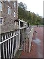 NS8842 : Sluices at New Lanark by Chris Allen