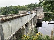 NN9357 : Port-na-Craig Dam by Andrew Abbott