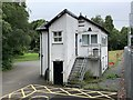 NN9358 : Signal box by Andrew Abbott