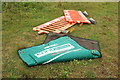 SX9066 : Barriers, Nightingale Park by Derek Harper
