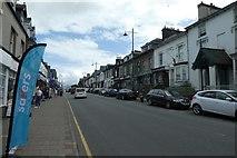SH5638 : Porthmadog High Street by DS Pugh