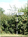 TG1220 : Signpost on Reepham Road by Adrian Cable