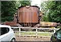NZ5921 : Transfer ladle car, in the museum car park, Kirkleatham by Humphrey Bolton