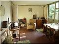 SO9568 : Avoncroft Museum - prefab living room by Chris Allen