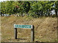 TG1122 : Furze Lane sign by Geographer