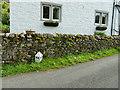 SD9278 : County marker stone, Hubberholme by Stephen Craven