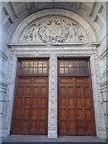 TQ2779 : Entrance doors, Victoria and Albert Museum by Robin Sones