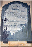 SX5646 : Kingcome Memorial, Revelstoke Church by Stephen McKay