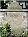 TM0174 : Wattisfield War Memorial by Adrian S Pye