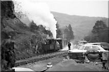 SH6441 : 'Prince' waiting departure at Tan y Bwlch by Martin Tester