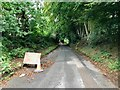 SP2874 : Crackley Lane is closed by David Lally
