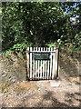 TQ4707 : Footpath short-cut to the cricket ground by Hugh Craddock