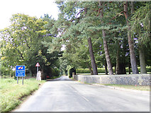 TG1022 : Norwich Road, Reepham by Geographer
