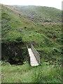 NT8712 : Footbridge, Fairhaugh by Geoff Holland