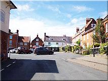 TG1022 : Church Hill, Reepham by Geographer