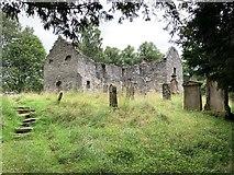 NN8666 : St Bride's Kirk, Old Blair by Andrew Abbott