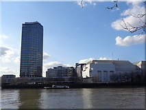 TQ3078 : Millbank Tower from Albert Embankment by Robin Sones