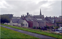 NT9953 : Berwick seen from the town walls by habiloid