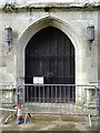 SP2054 : North Porch of Holy Trinity Church by Philip Halling