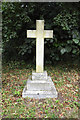 TM2293 : The grave of Ernest E Tyrrell, Fritton St Catherine by Adrian S Pye