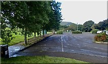 J3731 : A muddy Islands Park car park on the following day by Eric Jones