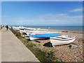 TQ8913 : Boats on the Beach by Des Blenkinsopp