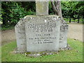 TM2998 : Kirstead War Memorial by Adrian S Pye