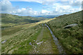 SH7166 : Track to Melynllyn reservoir by Andy Waddington