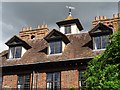 SP0746 : Detail of South Littleton Manor by Philip Halling
