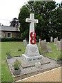 TF5911 : Wigginhall St Mary Magdalene War Memorial by Adrian S Pye