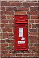 SK6588 : Georgian post box, Scrooby Top by Ian S