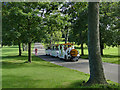 SE3338 : Road train, Roundhay Park by Stephen Craven