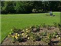SE3238 : Rose garden, Roundhay Park by Stephen Craven