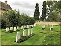 TL2772 : Burial ground in Houghton & Wyton by Richard Humphrey