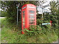 SU7988 : Red K6 Telephone Box at Pheasants by David Hillas