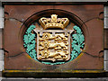 SD2374 : Crest on the Former Police Station by David Dixon
